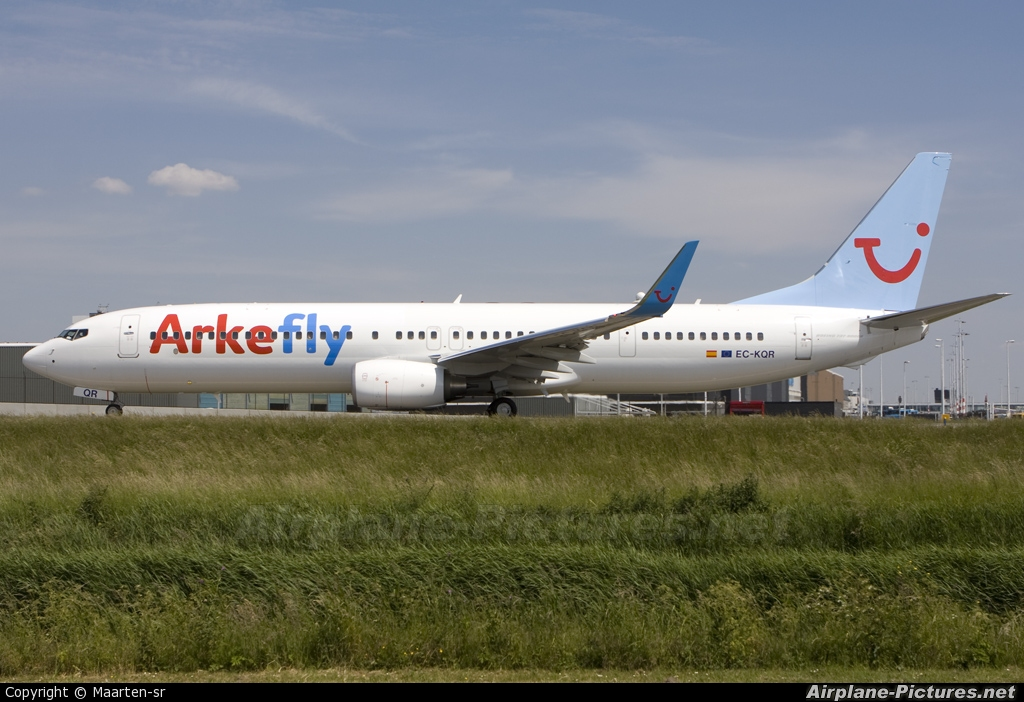 Arke/Arkefly EC-KQR aircraft at Amsterdam - Schiphol