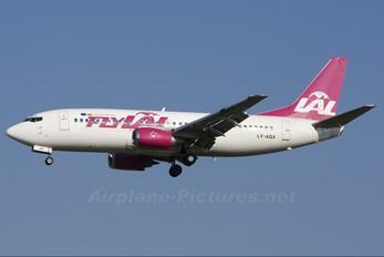 LY-AQX - FlyLAL Boeing 737-500