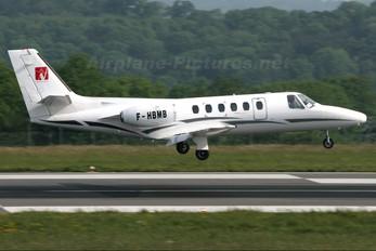 F-HBMB - Aerovision Cessna 550 Citation II