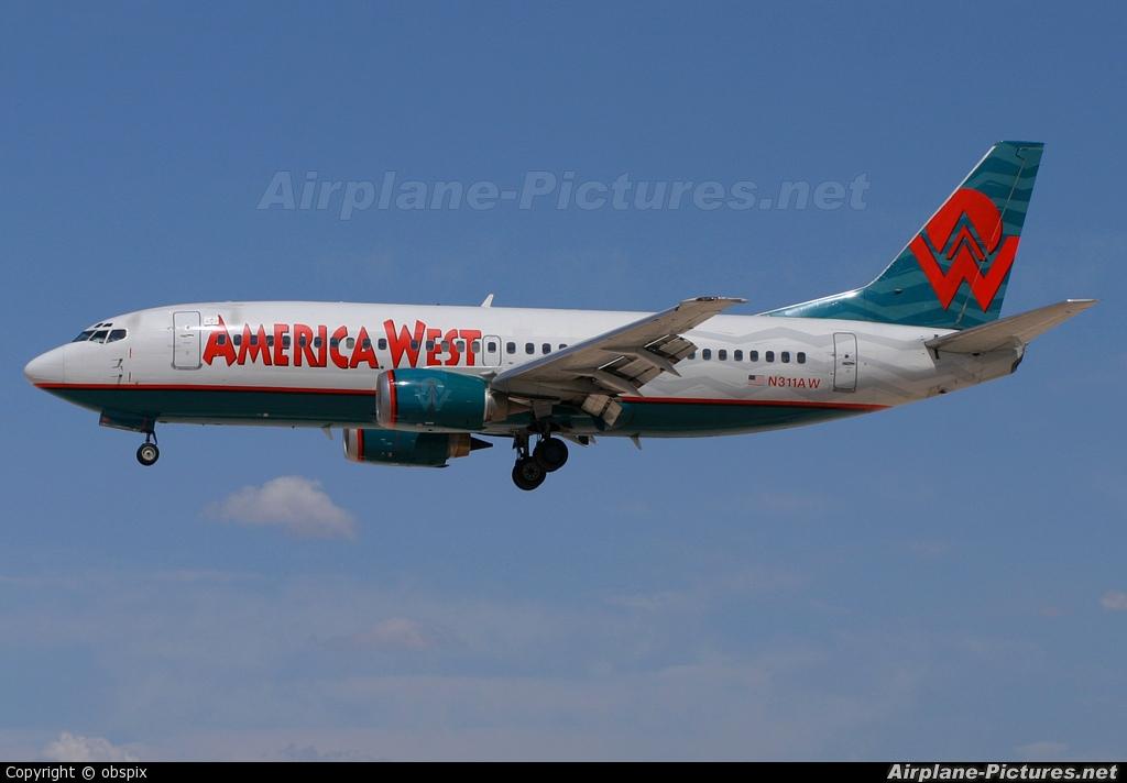 America West Airlines N311AW aircraft at Las Vegas - McCarran Intl