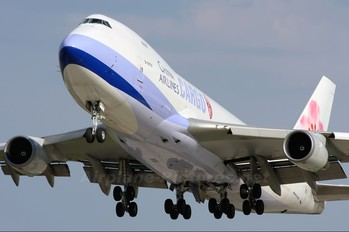 B-18707 - China Airlines Cargo Boeing 747-400F, ERF