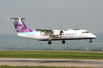 G-WOWD - Air Southwest de Havilland Canada DHC-8-300Q Dash 8