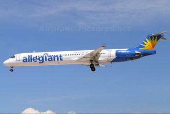 N872GA - Allegiant Air McDonnell Douglas MD-82
