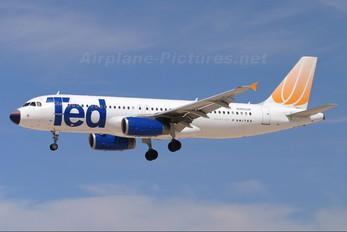 N485UA - Ted Airbus A320