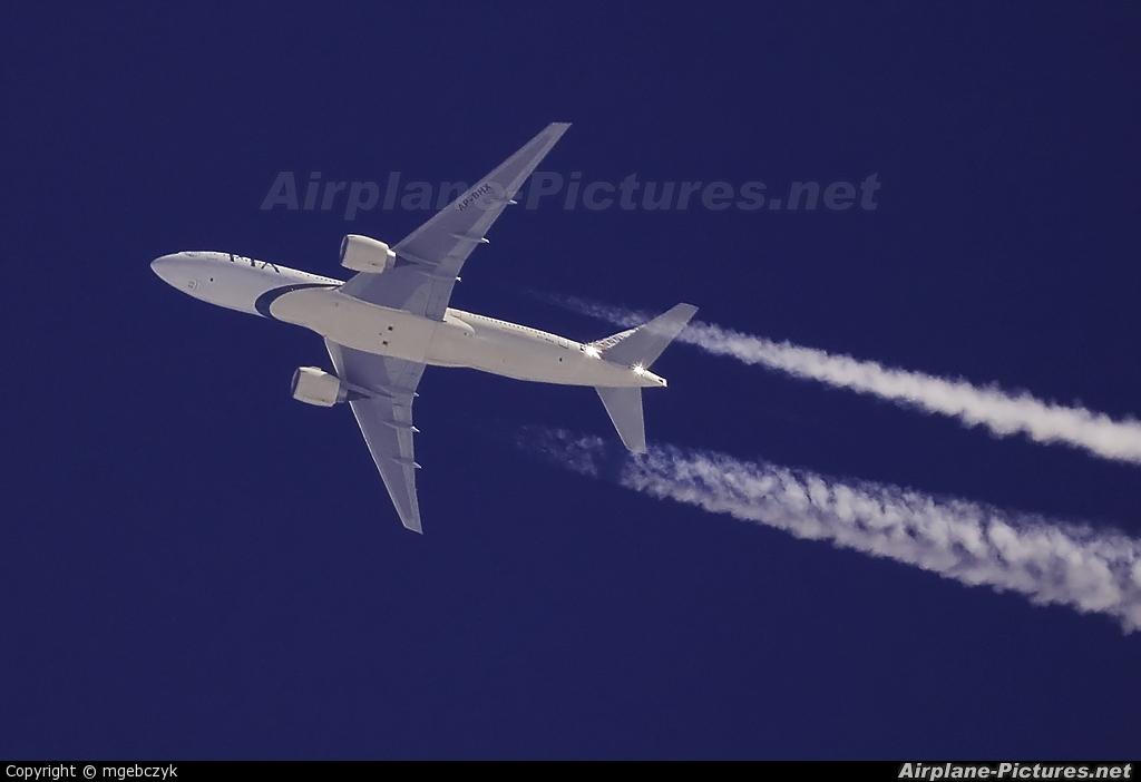 PIA - Pakistan International Airlines AP-BHX aircraft at Radom - Sadków