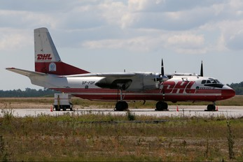 SP-FDP - DHL Cargo Antonov An-26 (all models)