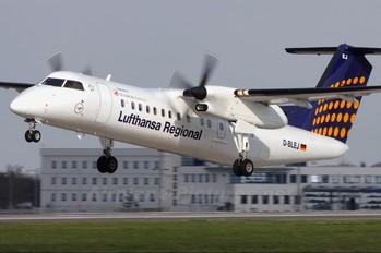 D-BLEJ - Augsburg Airways - Lufthansa Regional de Havilland Canada DHC-8-300Q Dash 8