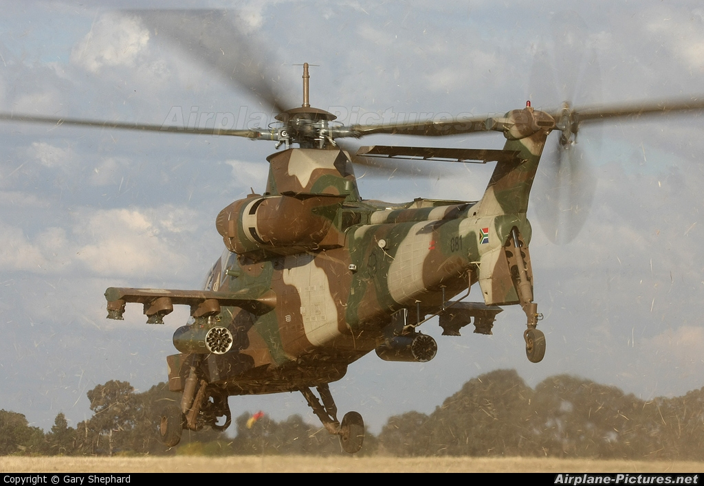 South Africa - Air Force 681 aircraft at New Tempe (Bloemfontein)