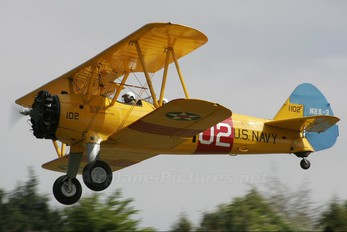G-AZLE - Private Boeing Stearman, Kaydet (all models)