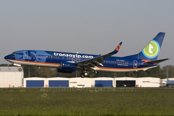PH-HSV - Transavia Boeing 737-800