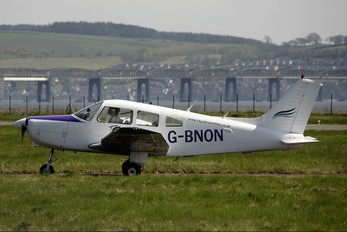 G-BNON - Tayside Aviation Piper PA-28 Warrior