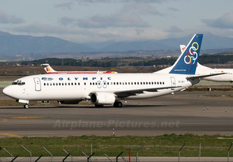 SX-BKI - Olympic Airlines Boeing 737-400