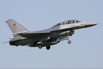 FB-10 - Belgium - Air Force General Dynamics F-16B Fighting Falcon
