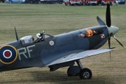"AB910 - Royal Air Force ""Battle of Britain Memorial Flight&quot Supermarine Spitfire Mk.Vb aircraft"
