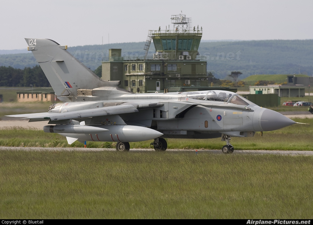 Royal Air Force ZG714 aircraft at Lossiemouth