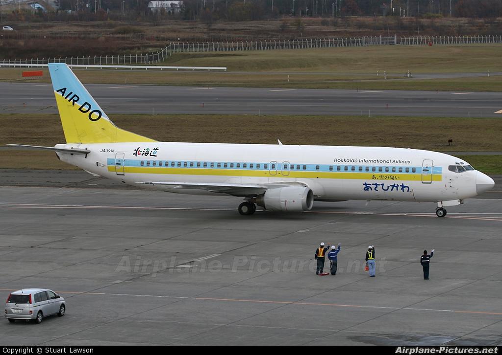 Air Do - Hokkaido International Airlines JA391K aircraft at New Chitose