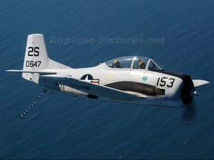 NX575K - Private North American T-28B Trojan