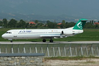 YR-FKA - Adria Airways Fokker 100