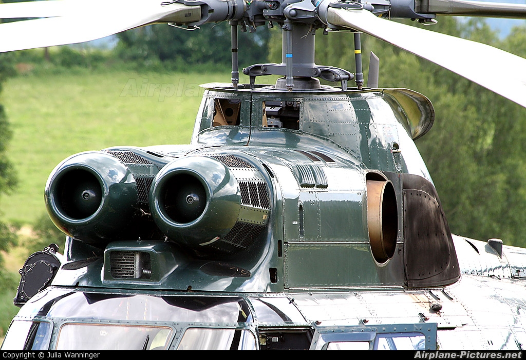 Germany -  Bundespolizei D-HAXA aircraft at Arnbruck