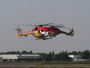J4063 - India - Air Force: Sarang Display Team Hindustan Dhruv