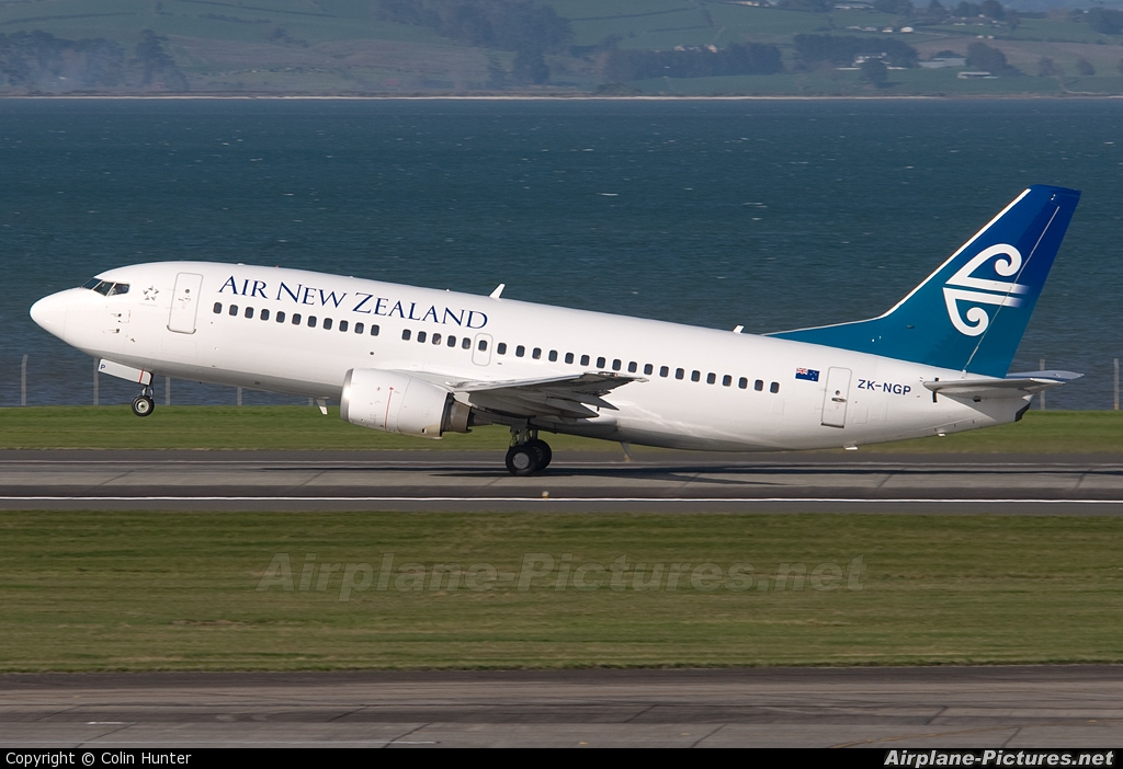Air New Zealand ZK-NGP aircraft at Auckland Intl