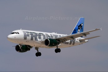 N903FR - Frontier Airlines Airbus A319
