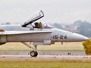 C.15-37 - Spain - Air Force McDonnell Douglas EF-18A Hornet