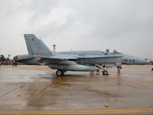 C.15-35 - Spain - Air Force McDonnell Douglas EF-18A Hornet