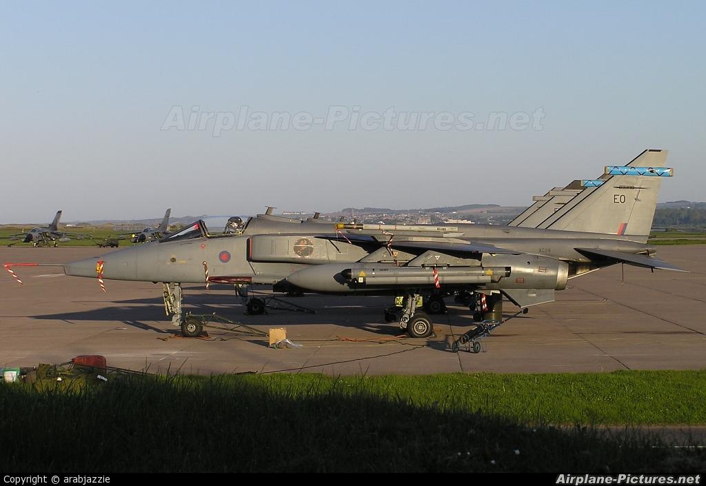 Royal Air Force XZ114 aircraft at Leuchars