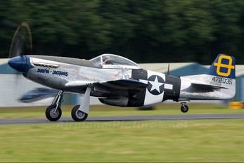 G-SIJJ - Private North American P-51D Mustang