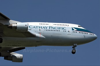 B-HKD - Cathay Pacific Boeing 747-400