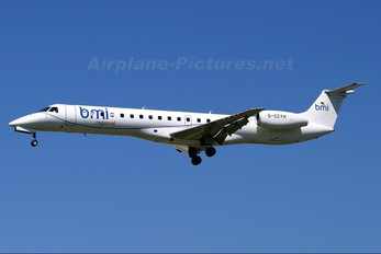 G-CCYH - BMI Regional Embraer ERJ-145