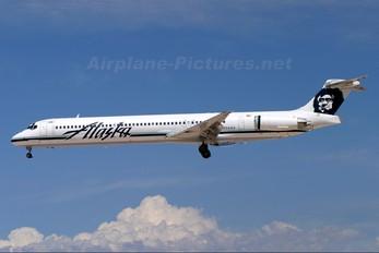 N934AS - Alaska Airlines McDonnell Douglas MD-83