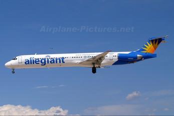 N856GA - Allegiant Air McDonnell Douglas MD-83