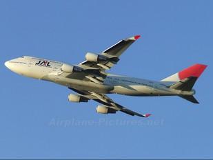 JA8089 - JAL - Japan Airlines Boeing 747-400