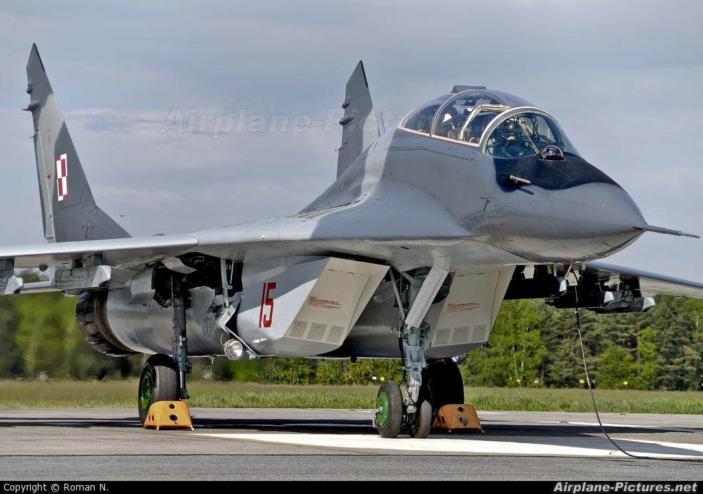 Poland - Air Force 15 aircraft at Off Airport - Poland