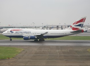 G-CIVM - British Airways Boeing 747-400