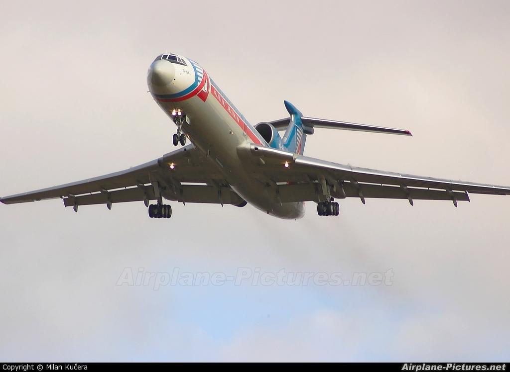 Ural Airlines RA-85814 aircraft at Prague - Václav Havel