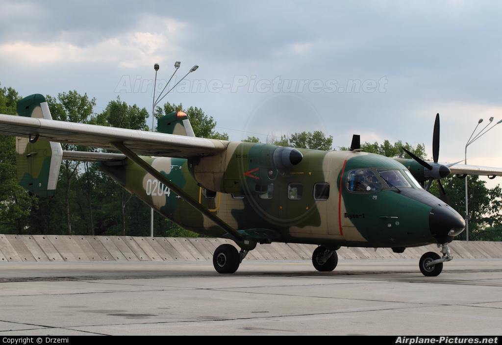 Poland - Air Force 0204 aircraft at Mińsk Mazowiecki