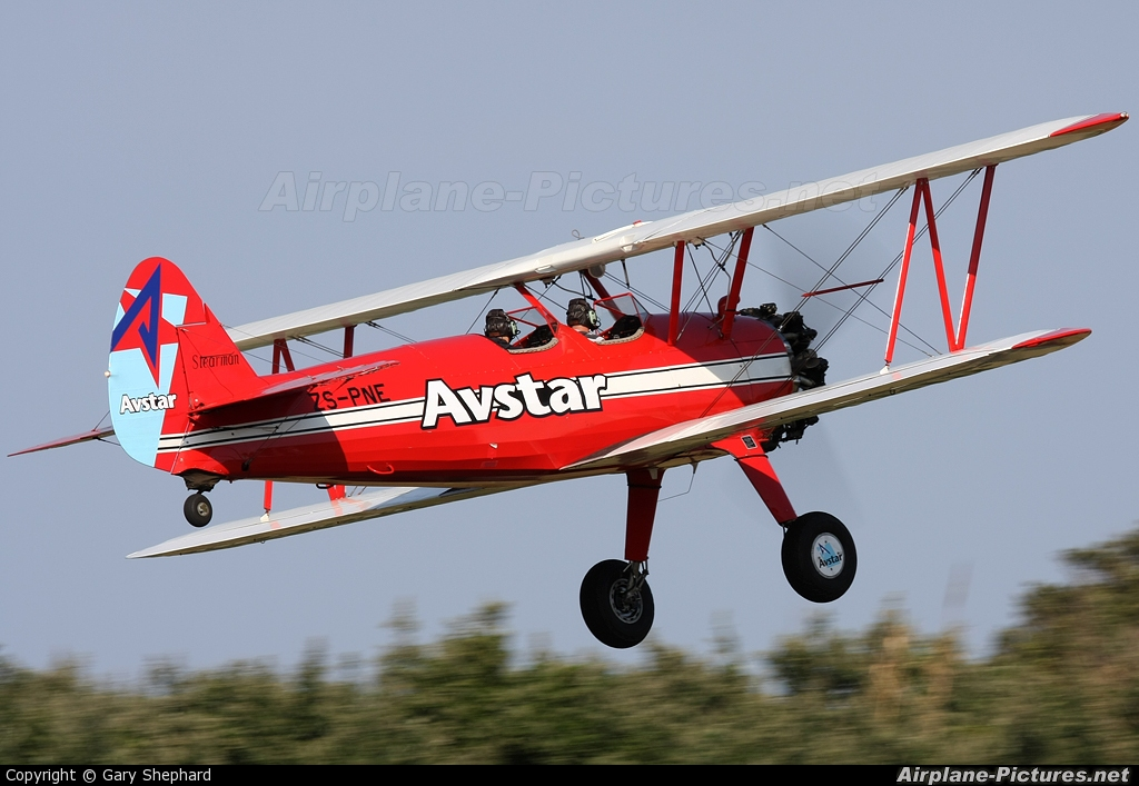Avstar ZS-PNE aircraft at Durban - Virginia