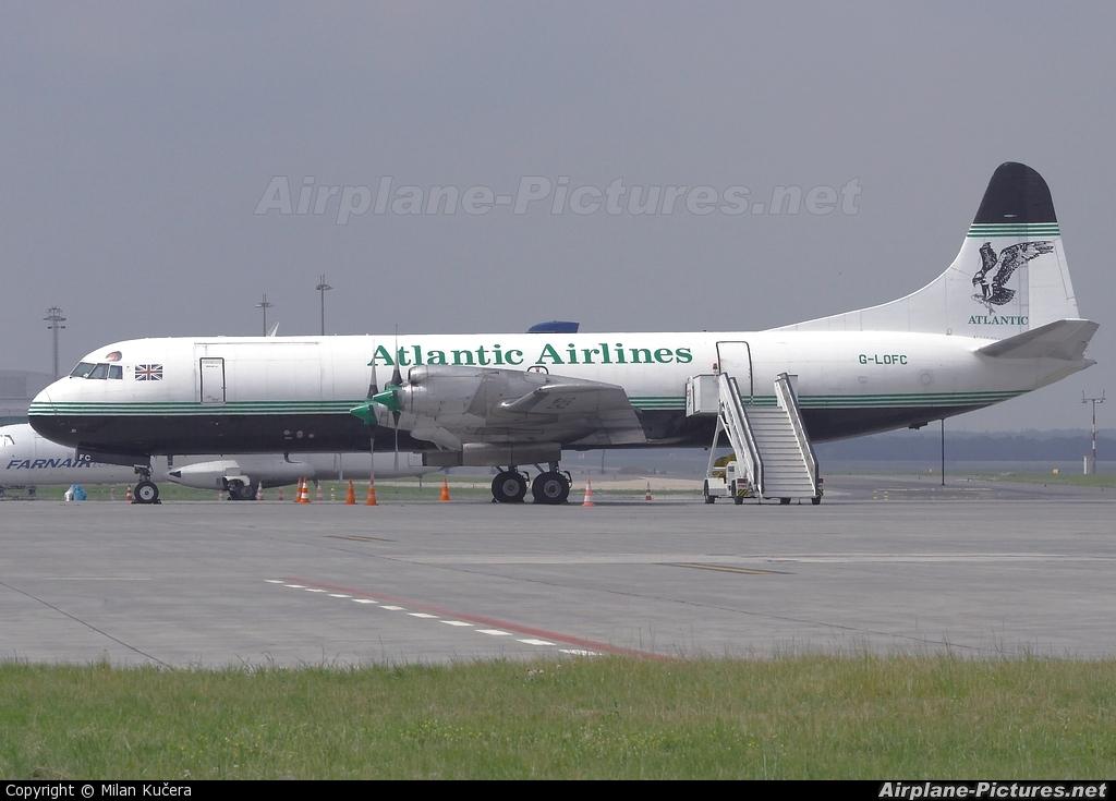Atlantic Airlines G-LOFC aircraft at Prague - Václav Havel
