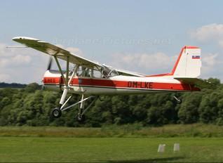 OM-LKE - Aeroklub Očová Aero L-60S Brigadýr