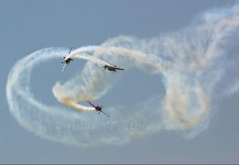 "- - 2 Excel Aviation ""The Blades Aerobatic Team"" Extra 300L, LC, LP series"