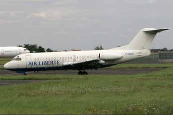 F-GDUS - Air Liberte Fokker F28