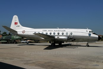 430 - Turkey - Air Force Vickers Viscount