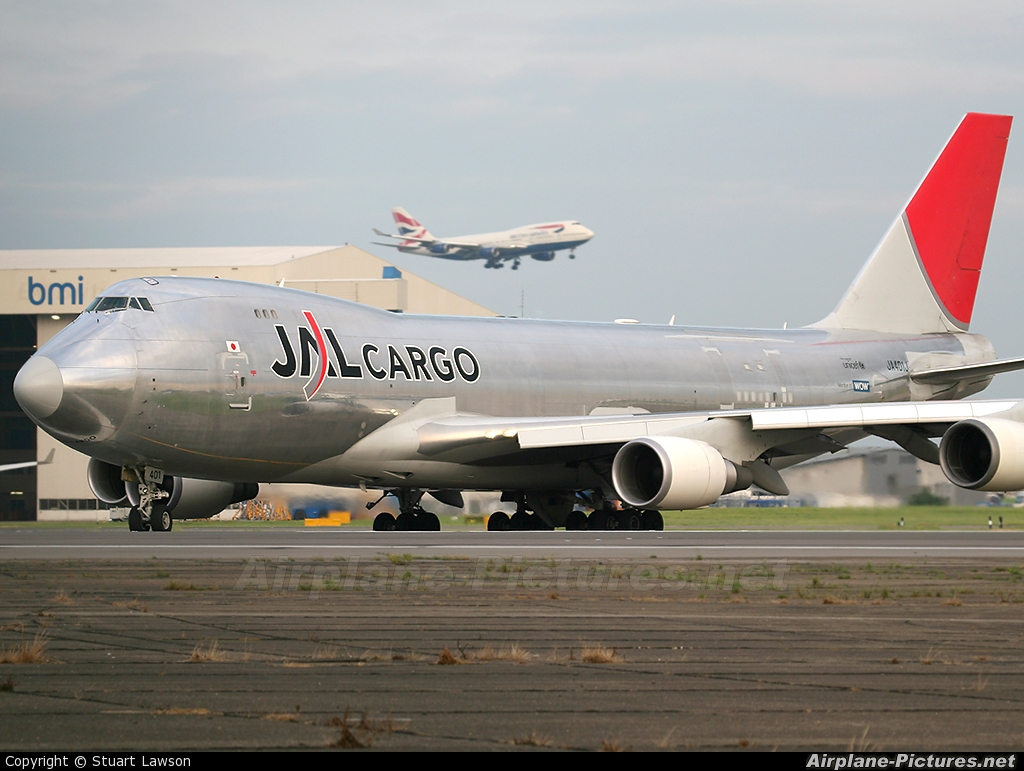 JAL - Cargo JA401J aircraft at London - Heathrow