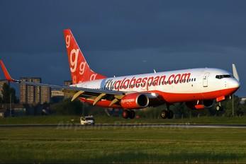 G-CDEG - Flyglobespan Boeing 737-800