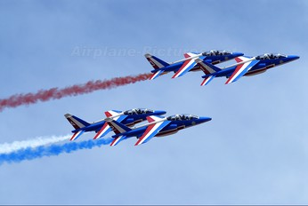 "- - France - Air Force ""Patrouille de France"" Dassault - Dornier Alpha Jet E"