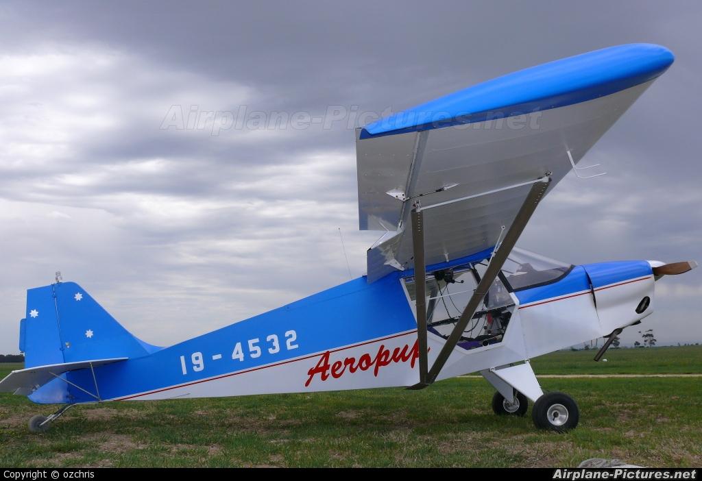 Private 19-4532 aircraft at Lethbridge Airpark, VIC