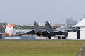 M43-03 - Malaysia - Air Force Mikoyan-Gurevich MiG-29N
